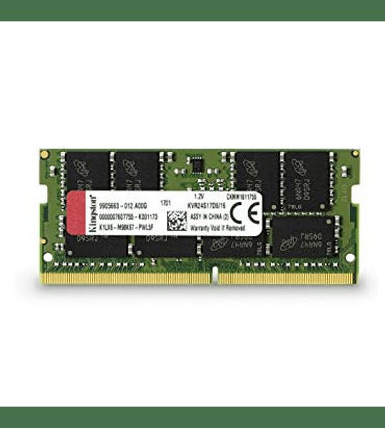 SODIMM DDR4 GB4.0 2400 KINGSTON