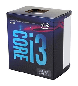 ITL 1151 CORE I3 8100 3.6GHZ/6MB/X4