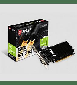 VGA PCIX GF GT710 GB1.0 MSI LP HVD