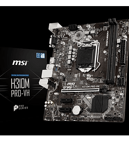 TM 1151 MSI H310M PROVH X1 8TH