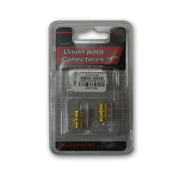 CONECTOR RG59 ACOPLE COAXIAL F