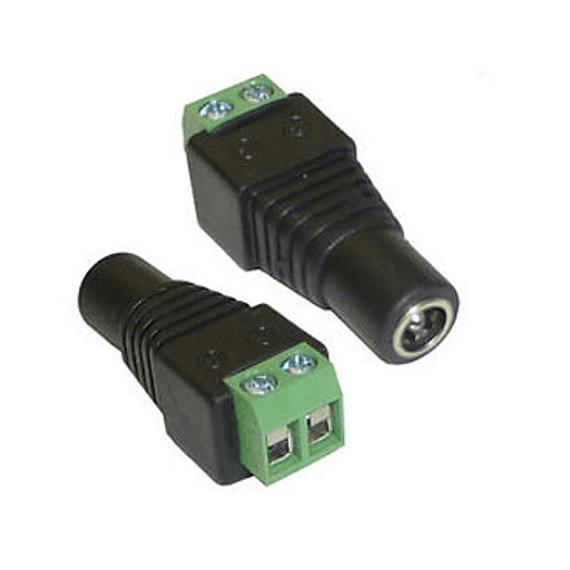 CAM CCTV CONECTOR DC HEMBRA