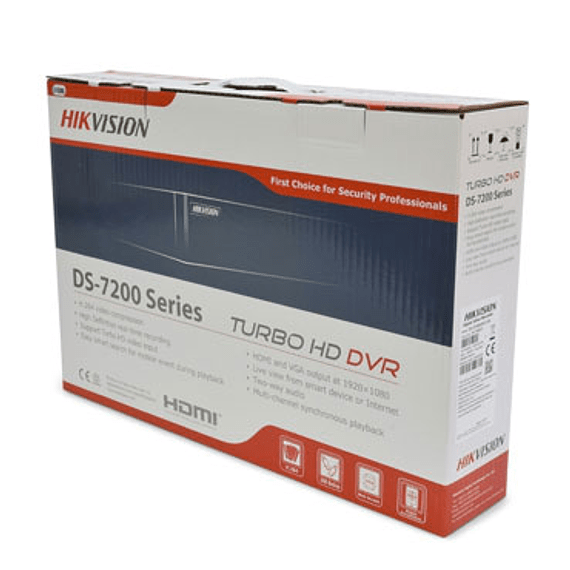 CAM CCTV DVR HD 4CH 1HD DS-7204