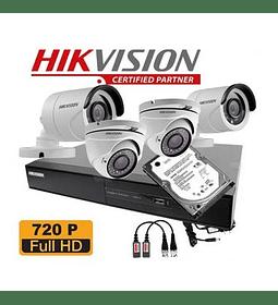 CAM CCTV KIT DVR 4CH 2XDOMO+ 2XBULL