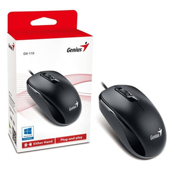 MOUSE GENIUS USB DX-110 NEGRO