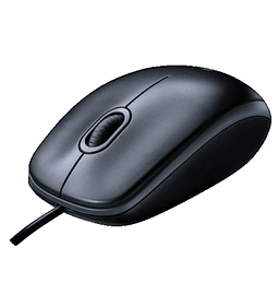 MOUSE LOGITECH USB M90 BLACK