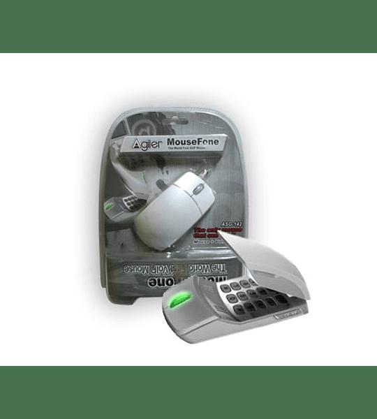 MOUSE TELEFONO USB OPTIC BEIGE TREE