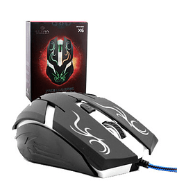 MOUSE ULTRA USB X6 GAMER TECHNOL