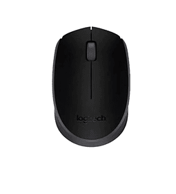 MOUSE WIREL LOGITECH USB M170 BLACK