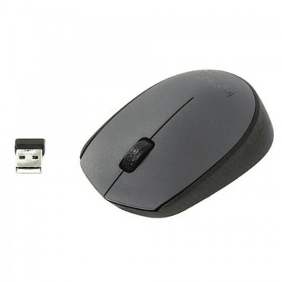 MOUSE WIREL LOGITECH USB M170 GRAY