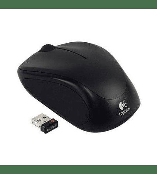 MOUSE WIREL LOGITECH USB M317 BLACK