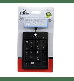 TEC NUM ULTRA USB NEGRO