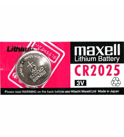 BATERIA LITIO MAXELL CR-2025