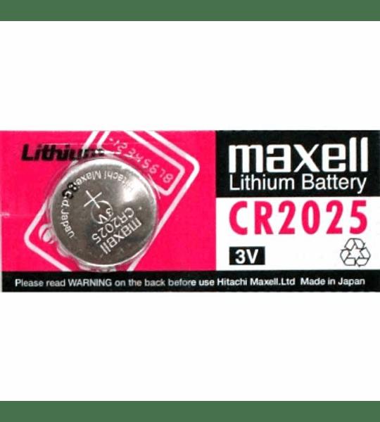 BATERIA LITIO MAXELL CR-2025