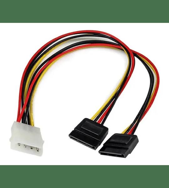 CABLE PODER MOLEX / X2 SATA TWC