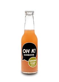 OH K! KOMBUCHA GINGER - Gengibre e Limão