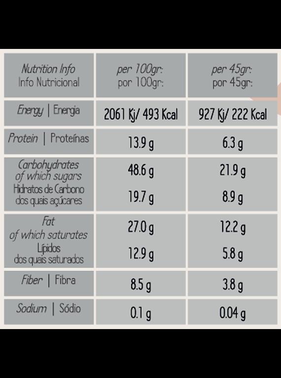 Granola de Maçã, Passas e Especiarias - 425gr