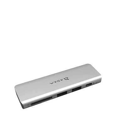 Hub USB-C Adam Elements CASA 5E / Gris Espacial