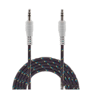 Cable audio 3Ft Bits charcoal