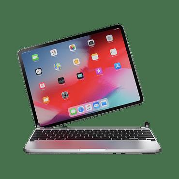 Teclado aluminio para iPad 10.2 Brydge Silver