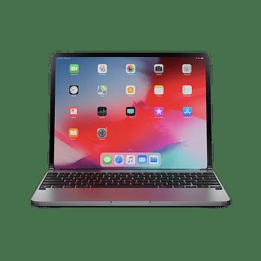 Teclado aluminio para iPad 12.9 3ª y 4ª gen Brydge Space Gray