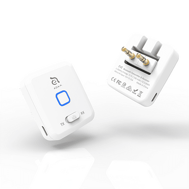 Transmisor wireless para Airpods Eve Adam Elements blanco