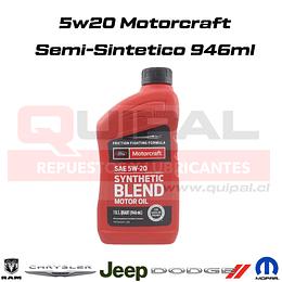 5w20 Motorcraft Semi-Sintético 946ml