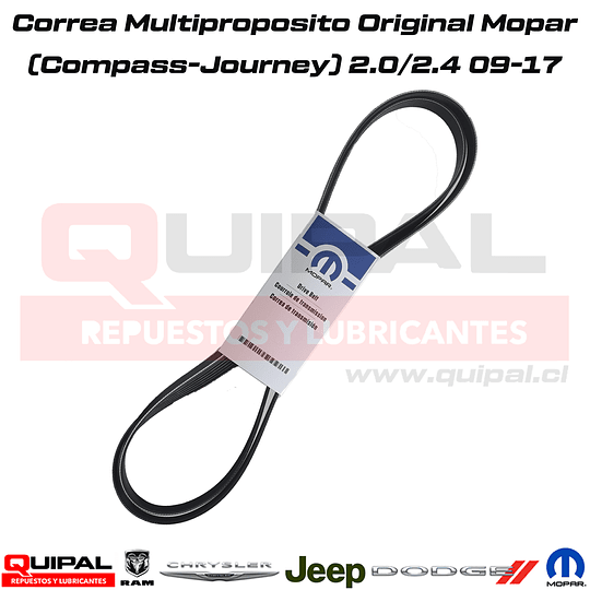 Correa Multiproposito Original Mopar 2.0/2.4 09-17
