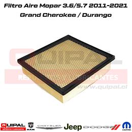 Filtro aire Durango- Grand Cherokee 3.6 5.7 2011-2019
