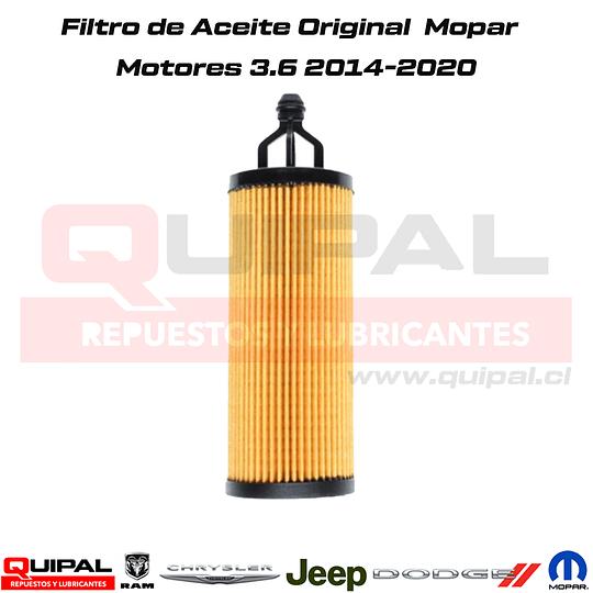 Filtro de Aceite Original Mopar 3.6 14-20
