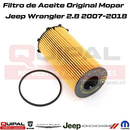 Filtro de Aceite Mopar Wrangler 2.8