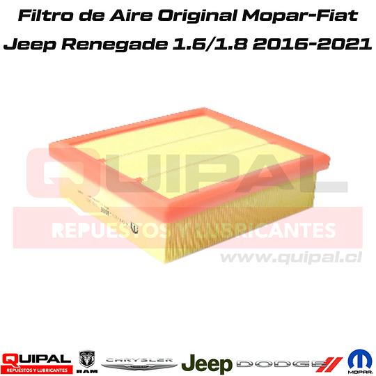 Filtro de Aire Mopar- Fiat Jeep Renegade 1.8 2016-2020