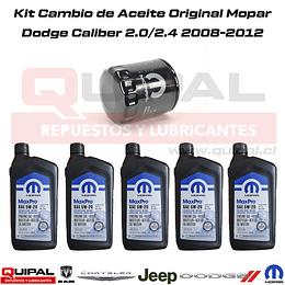 Kit Cambio de aceite Dodge Caliber 2.0/2.4 2008-2012