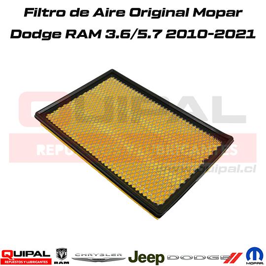 Filtro de Aire Mopar Dodge Ram 3.6/5.7 2010-2021
