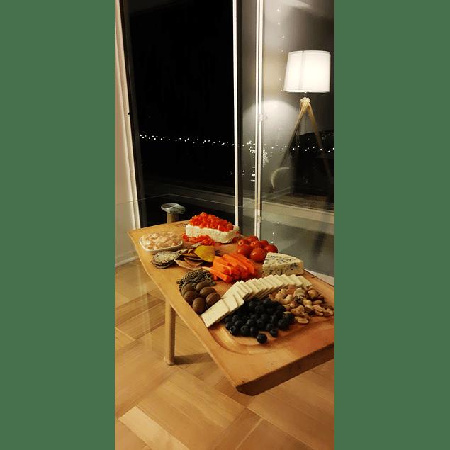Tabla madera rústica gourmet Conguillío de 80cm