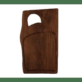 Tabla madera rústica gourmet Queulat de 40cm