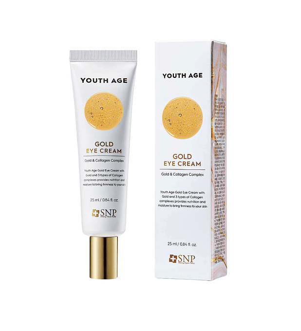 SNP Youth Age Gold Eye Cream 25ml