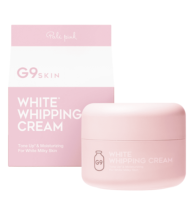 G9 Skin White Whipping Cream Pale Pink 50g