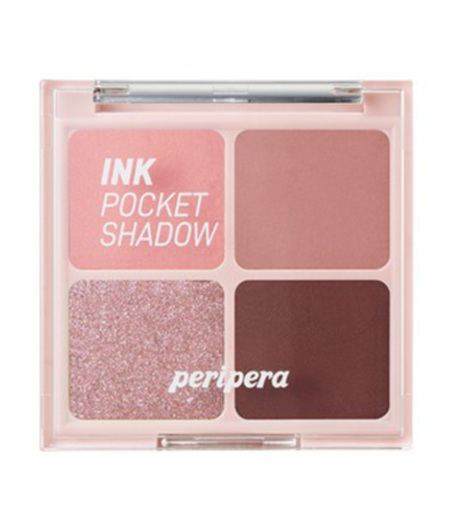 Peripera Ink Pocket Shadow Palette 004 Deeping Rose Moment
