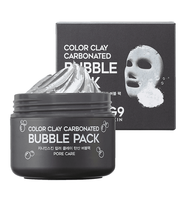 G9 Skin Color Clay Carbonated Bubble Pack  100ml