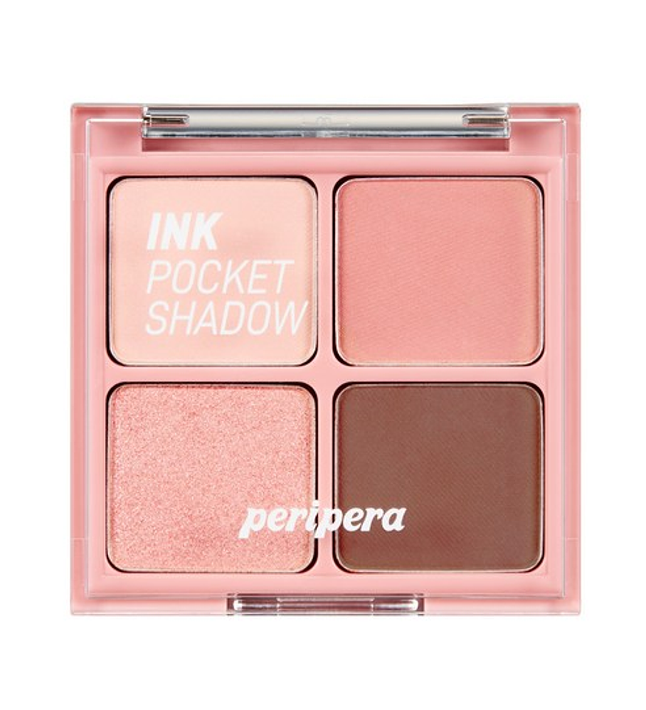 Peripera Ink Pocket Shadow Palette 002 Once Upon A Pink