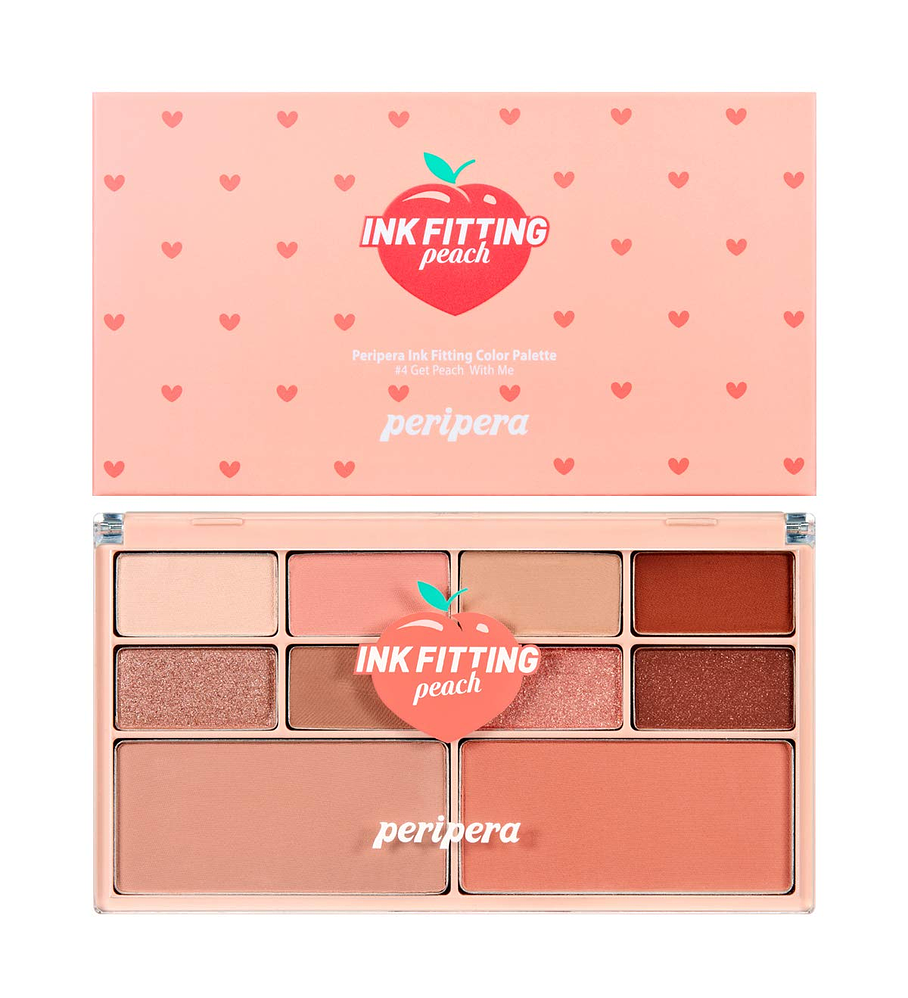 Peripera Ink Fitting Color Palette (#04 Get Peach With Me)