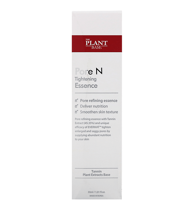 The Plant Base Pore N Tightening Essence 30ml