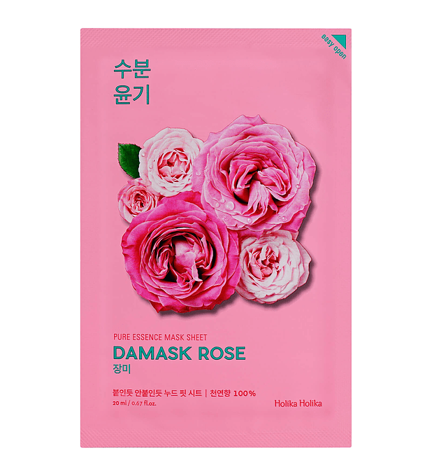 Holika Holika Pure Essence Damask Rose Sheet Mask