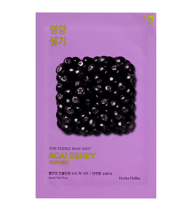 Holika Holika Pure Essence Acai Berry Mask Sheet