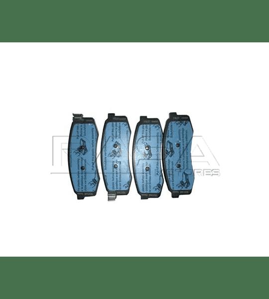 Pastilla de freno traseras Maxus V80