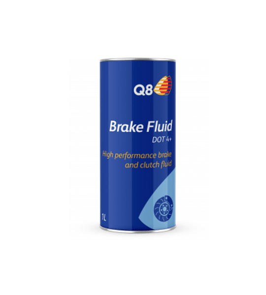 Q8 Brake Fluid DOT 4+ - 1 L