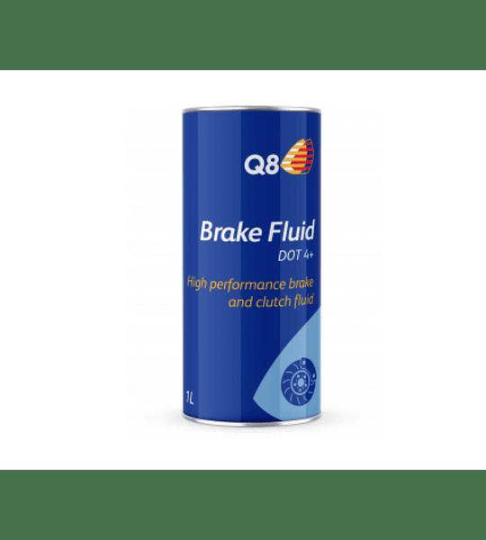 Brake Fluid DOT 4+ - 1 L Q8Oils