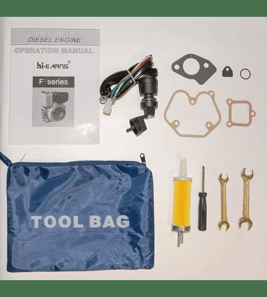 Motor Diésel 10 Hp Partida Eléctrica y Manual