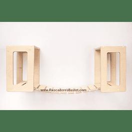 Puente colgante con módulos